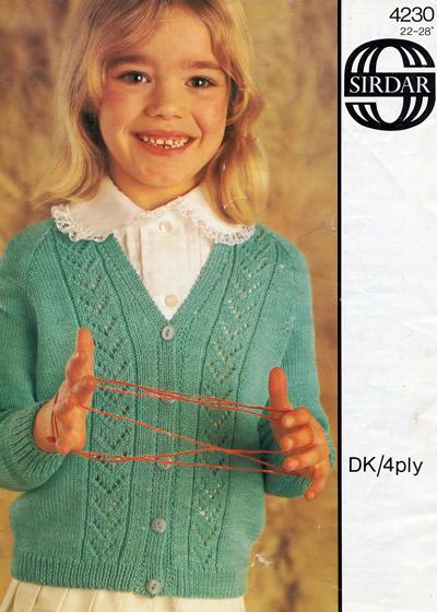 "WENDY Knitting Pattern For Ladies 4 Ply  Bolero Cardigan Size 28//42/"""