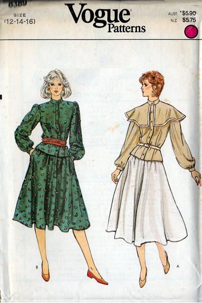 Vintage Patterns SEWING PATTERNS Archives Interesting Vogue Sewing Patterns