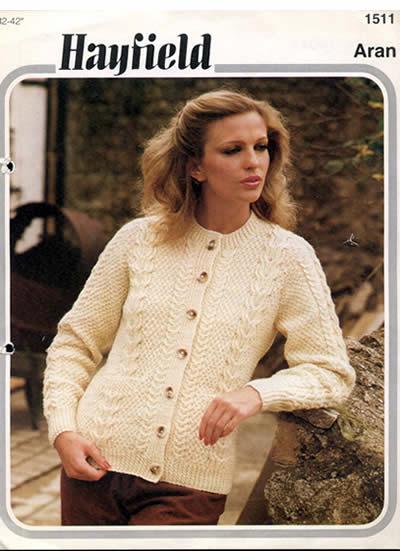 dfdf79bfd473 Pattern ID  Hayfield 1511 Wool brand  Brig for Aran