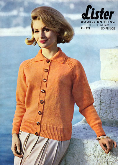 Vintage Patterns Perfectly Plain Classic Cardigan X