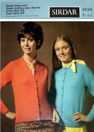 Sirdar Womens Cardigan Knitting Pattern 8728