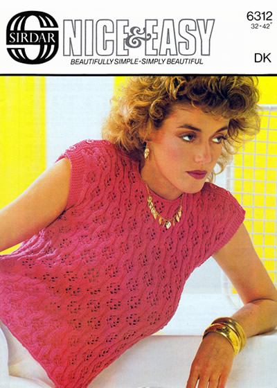 Vintage Patterns Nice And Easy Summer Top