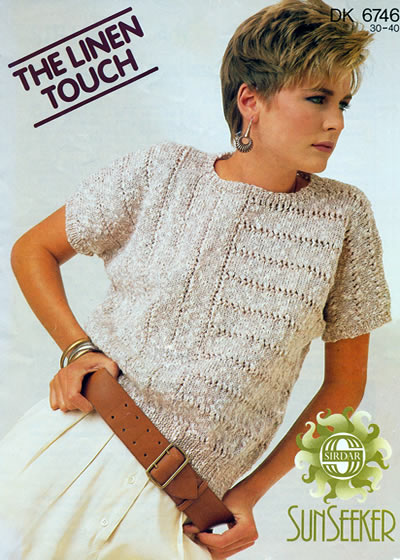 Knitting Patterns Ladies Summer Cardigans : Vintage Patterns: Search Results